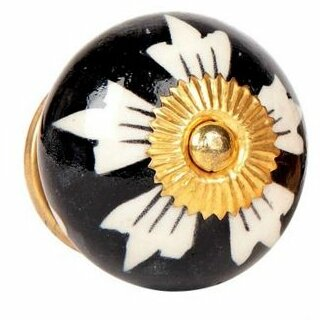 Handpainted Round Knob by MarktSq