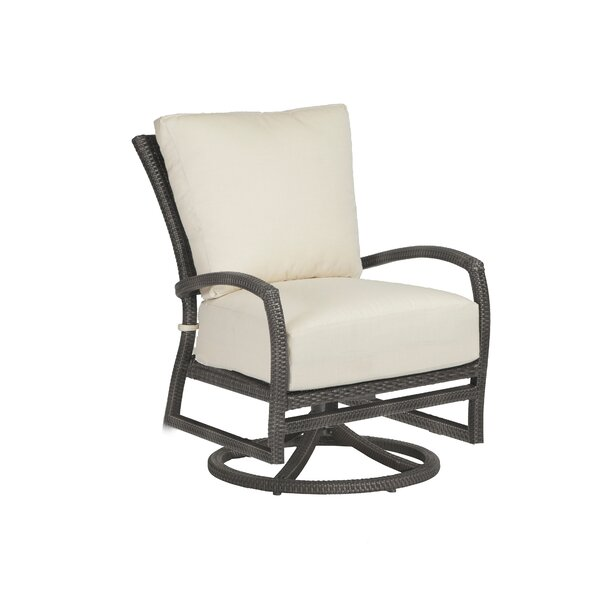 Skye Swivel Rocking Lounge Chair with Cushion by Summer Classics