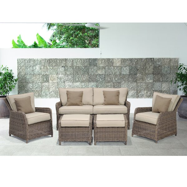Avadi Outdoor 5 Piece Sofa Seating Group by Wildon Home®