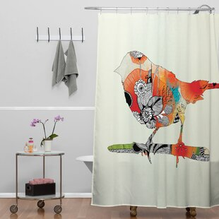 Herkimer Little Bird Shower Curtain