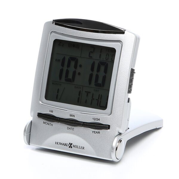 Distant Time Traveler Alarm Clock by Howard Miller®
