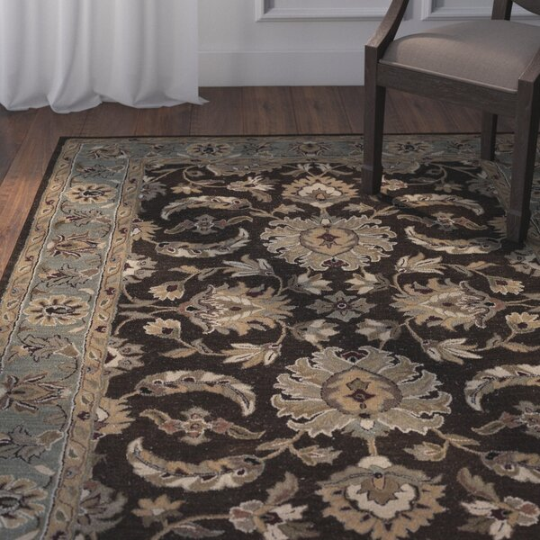 Standish Chocolate Rug by Darby Home Co