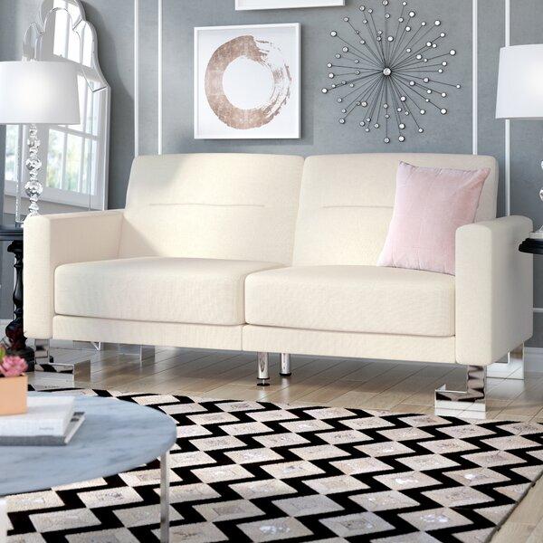 Binette Foldable Convertible Sofa by Willa Arlo Interiors
