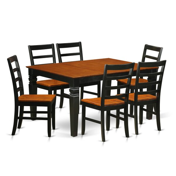 Channing 7 Piece Dining Set by Red Barrel Studio Red Barrel Studio