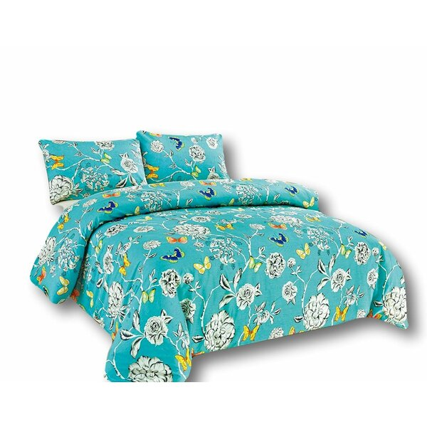 Rother Reversible Duvet Set by Charlton Home