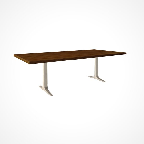Darbonne Wood Top Dining Table by Brayden Studio