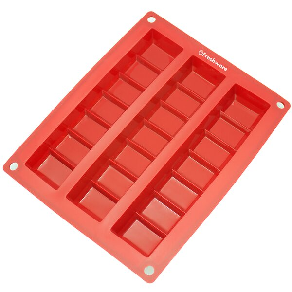 3 Cavity Silicone Mold Pan by Freshware