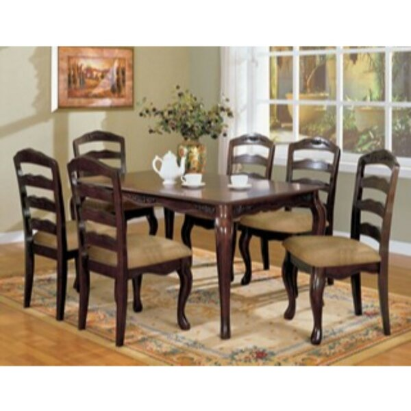 Kamille 5 Piece Solid Wood Dining Set by Alcott Hill