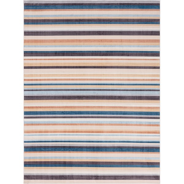 Starr Beige Indoor/Outdoor Area Rug by Rosecliff Heights