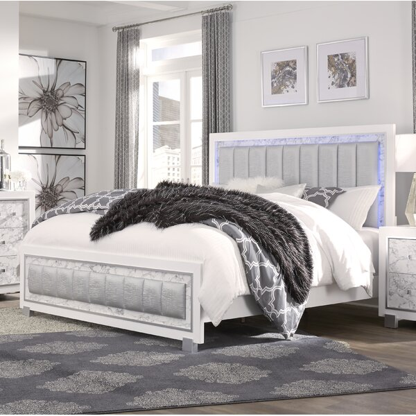 Faria Upholstered Standard Bed by Everly Quinn