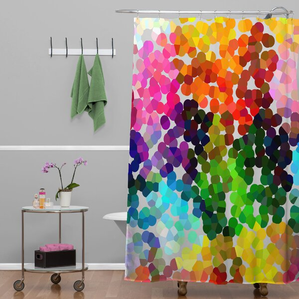 Winter 1998 Shower Curtain by East Urban Home