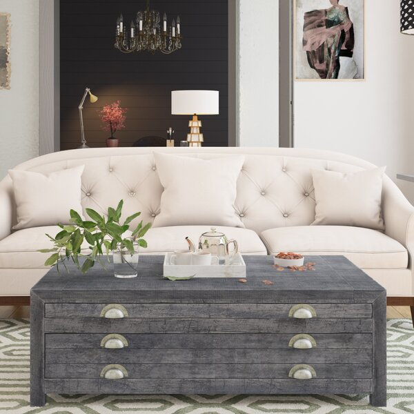 Phelps Coffee Table with Storage by Union Rustic