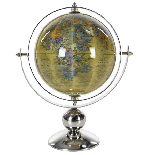 Stainless Steel Globe by Charlton Home