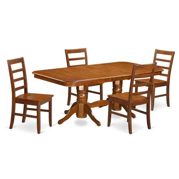Pillsbury 5 Piece Dining Set by August Grove