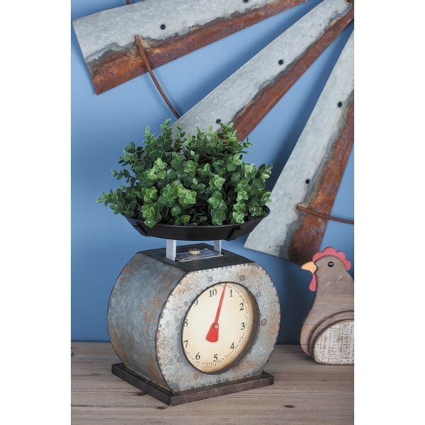 Decorative Metal Scale by Cole & Grey