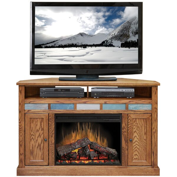 Oak Creek 56 TV Stand with Fireplace by Legends Furniture