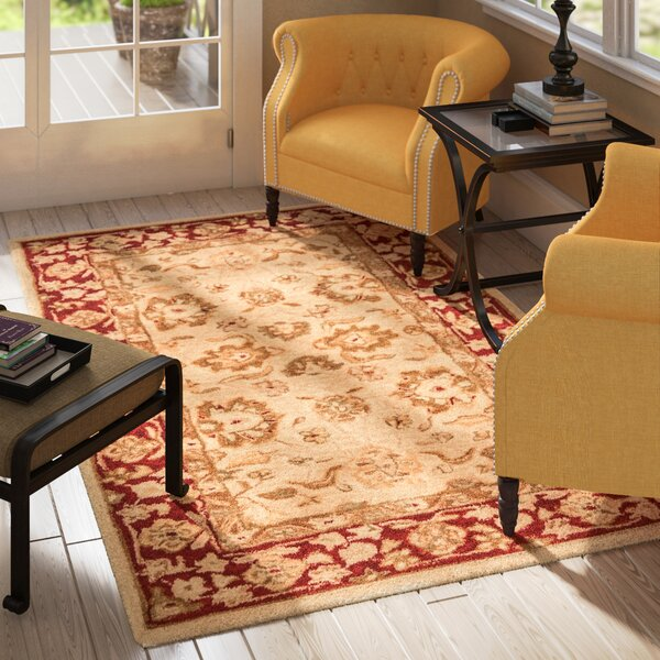Pritchard Hand-Woven Wool Area Rug by Three Posts