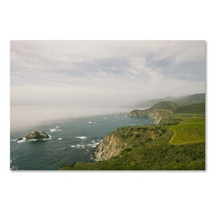 Big Sur Coastal Daytime by Ariane Moshayedi Photographic Print on Wrapped Canvas by Trademark Fine Art