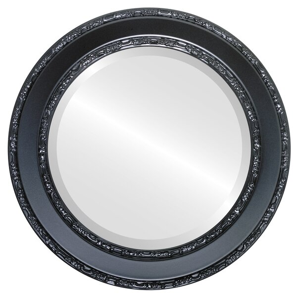 Regent Framed Round Accent Mirror by Astoria Grand