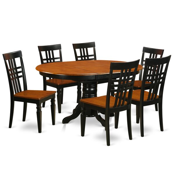Bargain 7 Piece Dining Set By East West Furniture 2019 Coupon