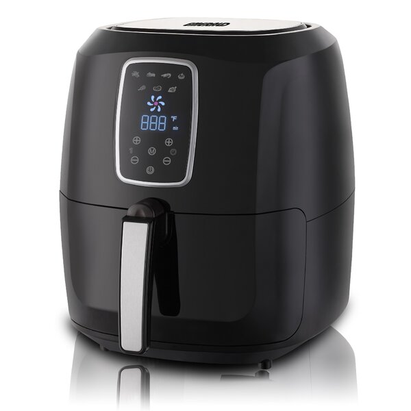 5.2 Liter Air Fryer with Digital LED Touch Display by Emerald5.2 Liter Air Fryer with Digital LED Touch Display by Emerald