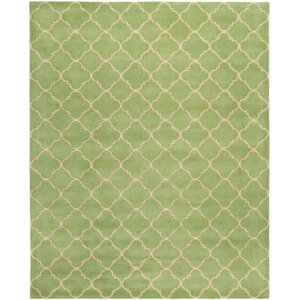 Wilkin Green Area Rug