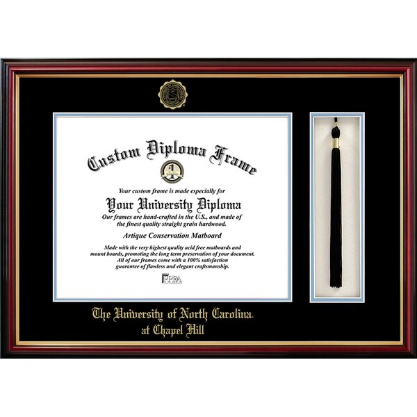 University of North Carolina Tassel Box and Diploma Picture Frame by Campus Images