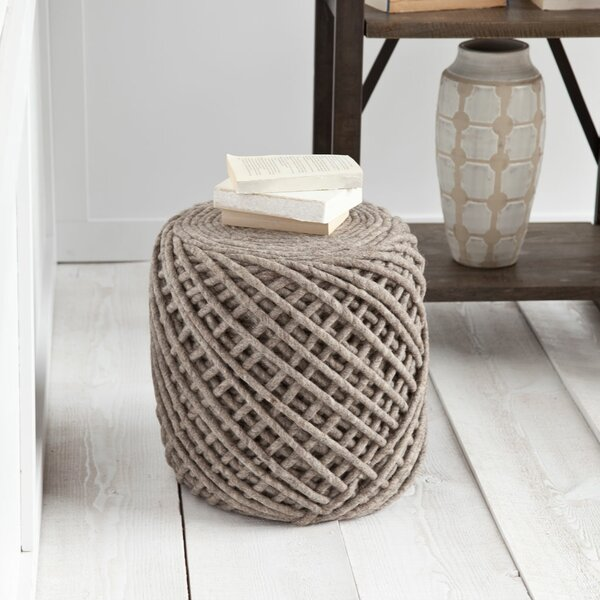 Calie Pouf by Laurel Foundry Modern Farmhouse