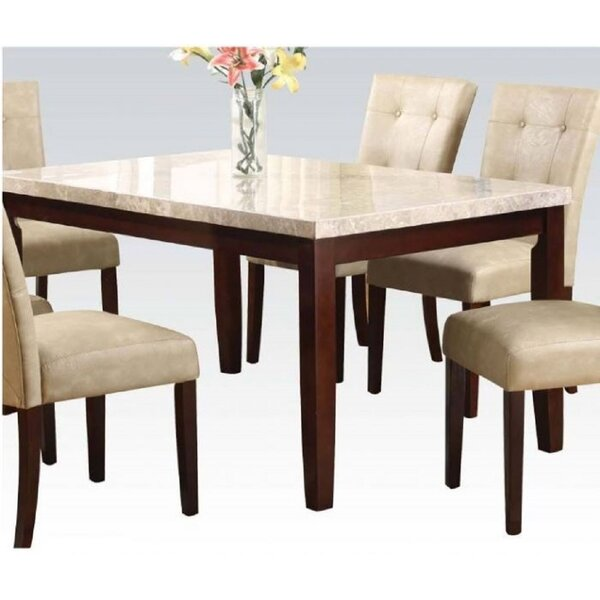 Solid Wood Dining Table by Ebern Designs Ebern Designs