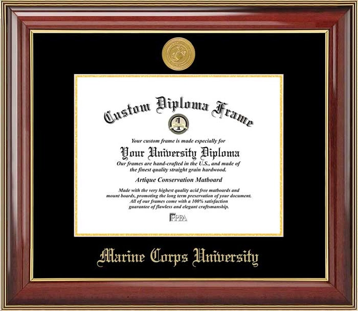 Diploma Frame Deals Marine Corps University Diploma Picture Frame Wayfair