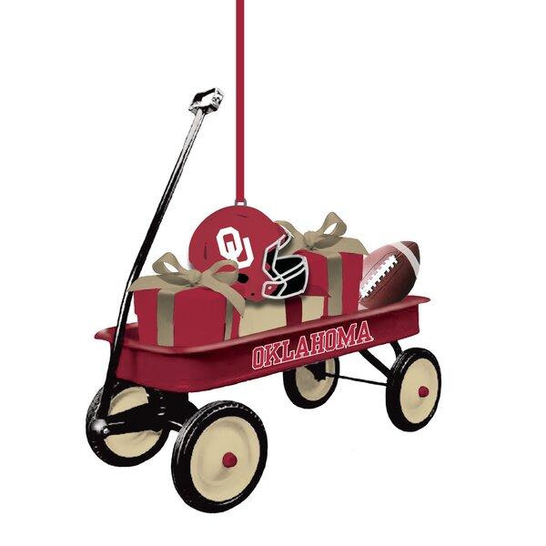 Team Wagon Ornament Hanging Figurine by Evergreen Enterprises, Inc