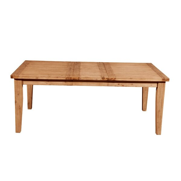 Wildwood Fantastic Extension Solid Wood Dining Table by Millwood Pines