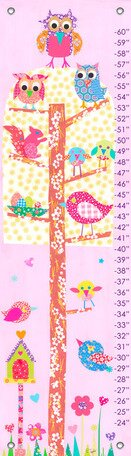 Little Owls Growth Chart by Oopsy Daisy