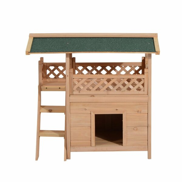 Conrad Wood Furniture Condo Dog House by Tucker Murphy Pet
