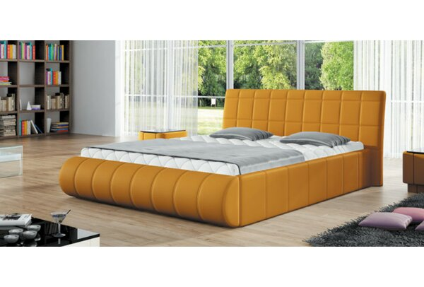 Balderas Upholstered Platform Bed with Mattress by Brayden Studio