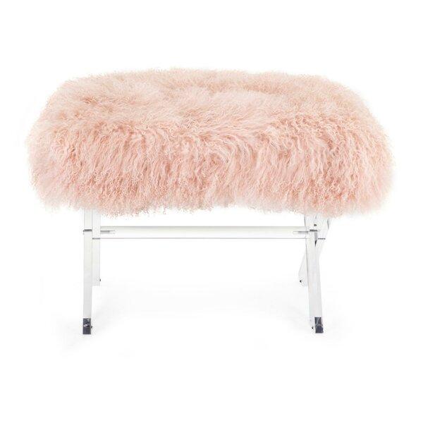 Vale Plastic Upholstered Bench by Mercer41