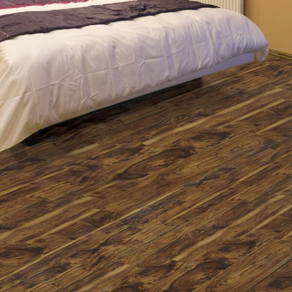 Exotic 5 5.25 x 64 x 12mm Acacia Laminate Flooring in Chai by All American Hardwood