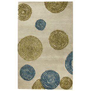 Odyssey Hand Tufted Gray Blue Green Area Rug