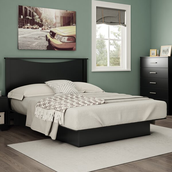 Gramercy Queen Storage Platform Bed by South Shore
