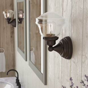 Read Reviews Margaree 1-Light Bath Sconce By Laurel Foundry Modern Farmhouse