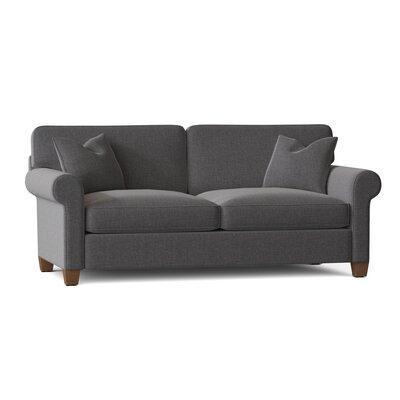 "Carey 88"""" Rolled Arm Sofa Bed Body Fabric: Sunbrella Cast Slate -  BirchLane, 9F0206D776394E10BE9999C4A8E9765E"
