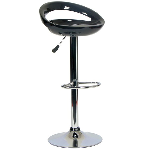 Willingham Adjustable Height Swivel Bar Stool By Orren Ellis