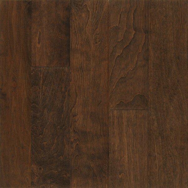 Frontier 5 Engineered Birch Hardwood Flooring in Vanilla Stick by Armstrong Flooring