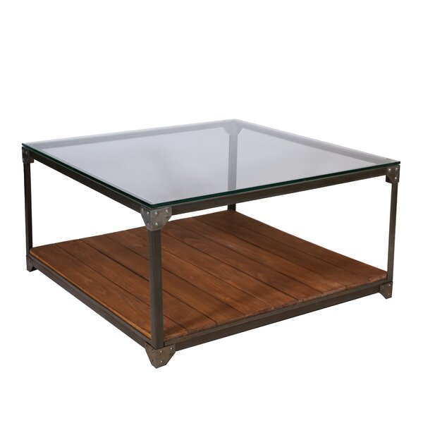 Buckhead Industrial Coffee Table by 17 Stories