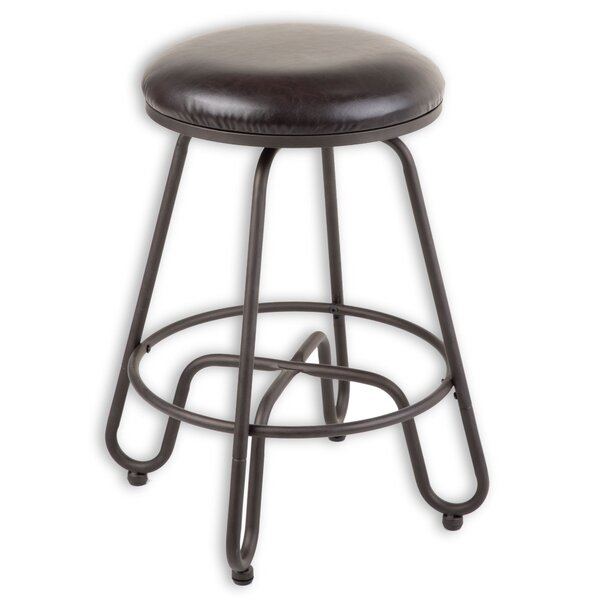 Eagleswood 30 Swivel Metal Bar Stool by Gracie Oaks