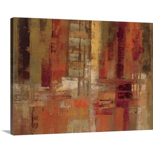 'Sunset Street' by Silvia Vassileva Painting Print on Canvas by Great Big Canvas