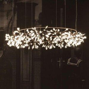 Lovely Heracleum 324 Light Kitchen Island Pendant Great Ideas