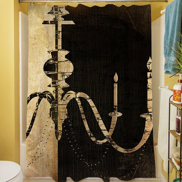 Chandelier I Shower Curtain by Manual Woodworkers & Weavers