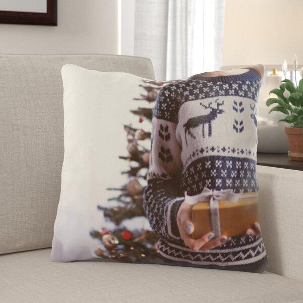 Rawlinson Christmas Indoor/Outdoor Canvas Throw Pillow