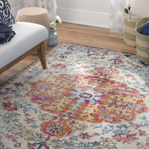 Hillsby Saffron Area Rug by Mistana